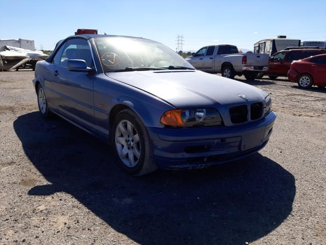 Salvage cars for sale at Tucson, AZ auction: 2001 BMW 325 CI
