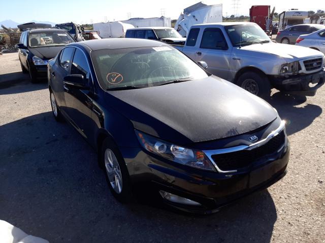 Salvage cars for sale at Tucson, AZ auction: 2013 KIA Optima LX