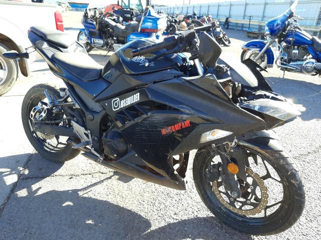 Salvage cars for sale from Copart Phoenix, AZ: 2013 Kawasaki EX300 A