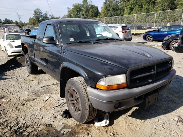 Dodge salvage cars for sale: 2004 Dodge Dakota SXT