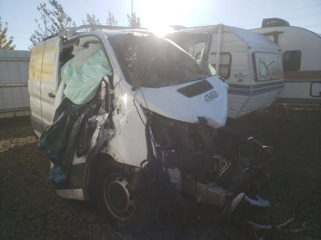 Salvage trucks for sale at Eugene, OR auction: 2017 Ford Transit T
