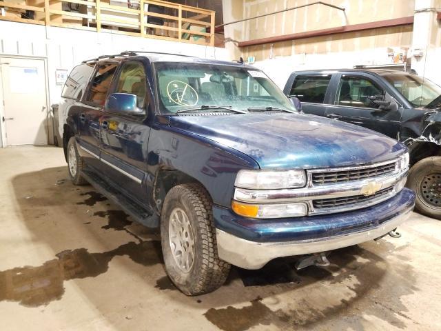 Chevrolet Suburban salvage cars for sale: 2006 Chevrolet Suburban