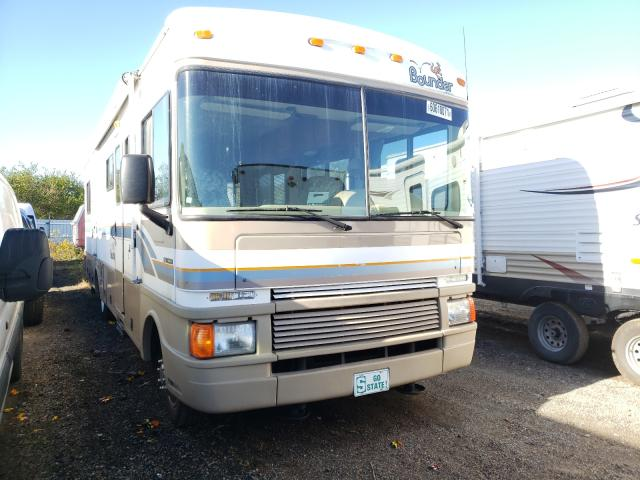 Fleetwood salvage cars for sale: 1999 Fleetwood Bounder