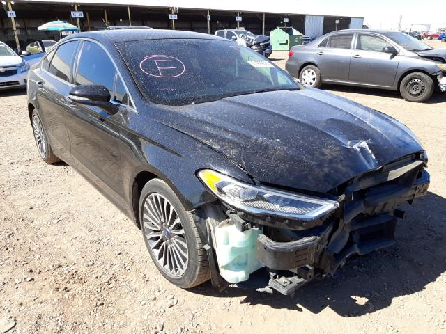 Salvage cars for sale from Copart Phoenix, AZ: 2018 Ford Fusion Titanium