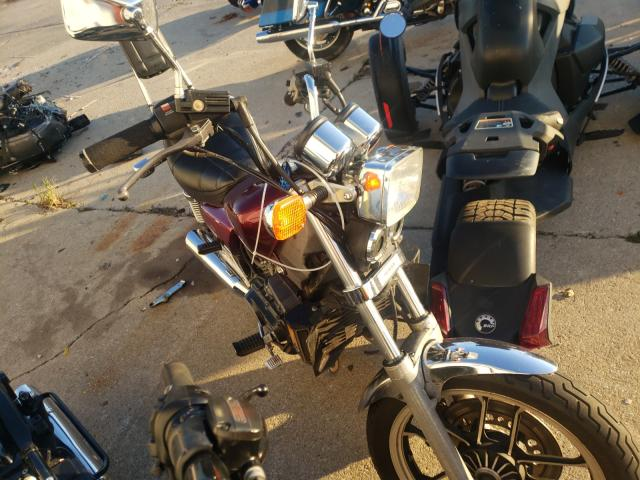 Salvage motorcycles for sale at Woodhaven, MI auction: 1985 Honda VF500 C