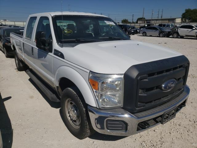 Salvage cars for sale from Copart Haslet, TX: 2013 Ford F250 Super