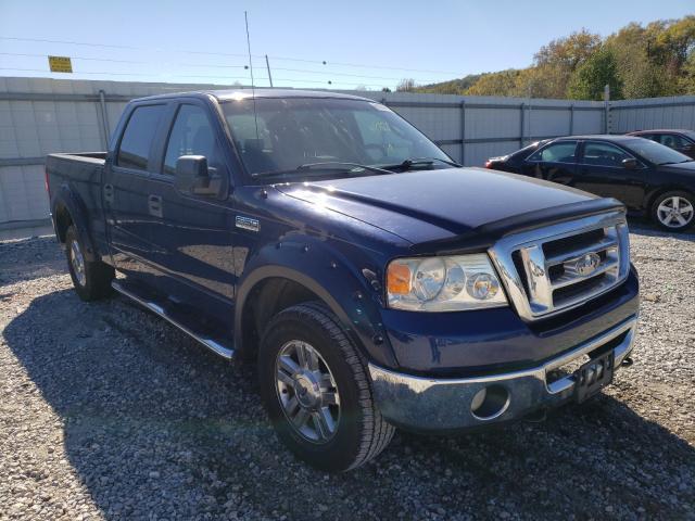 Salvage trucks for sale at Prairie Grove, AR auction: 2008 Ford F150 Super