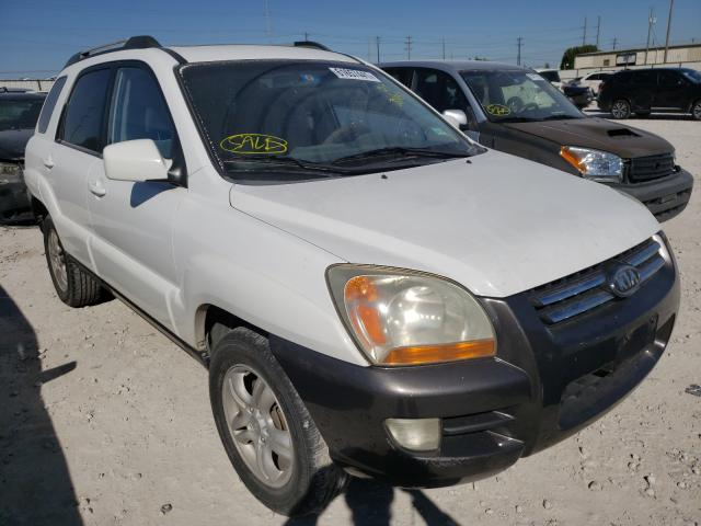 Salvage cars for sale from Copart Haslet, TX: 2006 KIA New Sporta