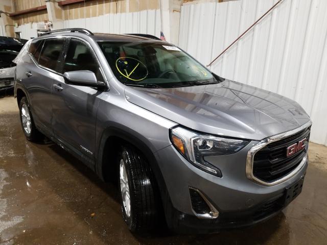 GMC Terrain salvage cars for sale: 2018 GMC Terrain