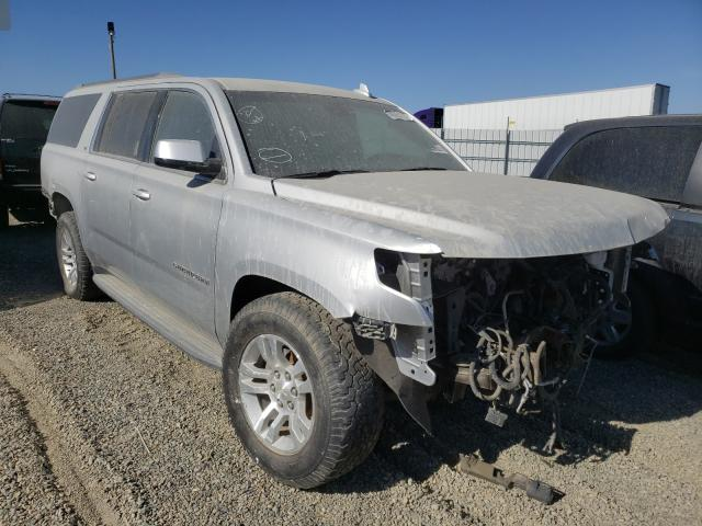 Salvage cars for sale from Copart Antelope, CA: 2017 Chevrolet Suburban K