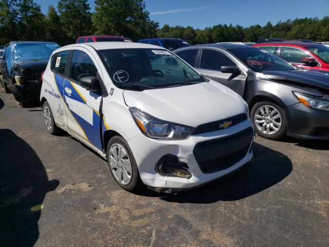 Salvage cars for sale from Copart Lufkin, TX: 2017 Chevrolet Spark LS