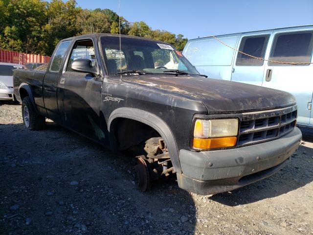 Dodge Dakota salvage cars for sale: 1996 Dodge Dakota