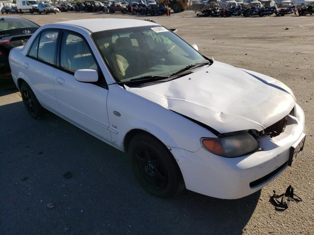 Mazda Protege salvage cars for sale: 2002 Mazda Protege