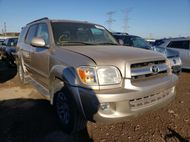 Toyota salvage cars for sale: 2006 Toyota Sequoia LI