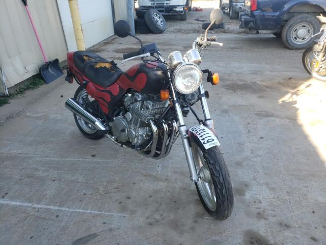 Salvage motorcycles for sale at Kincheloe, MI auction: 1993 Honda CB750