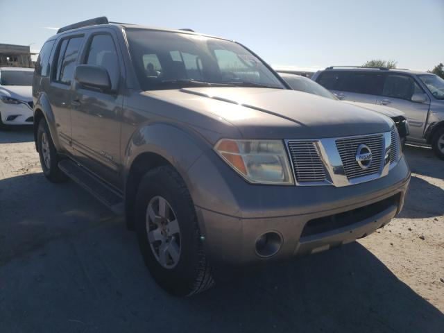 Salvage cars for sale from Copart Tulsa, OK: 2005 Nissan Pathfinder
