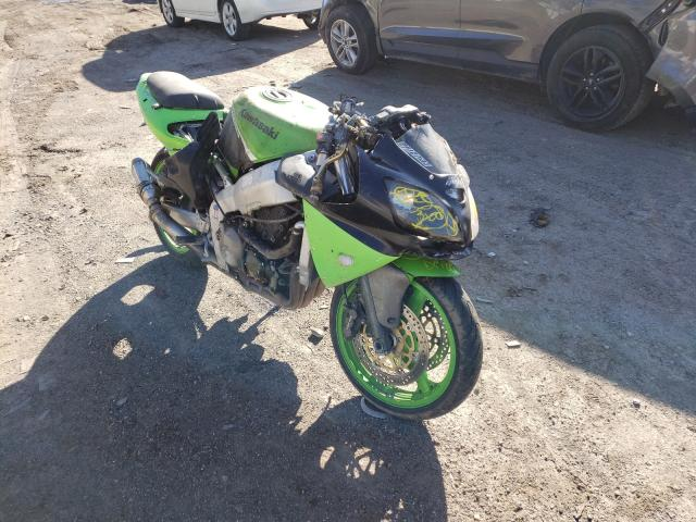 Salvage cars for sale from Copart Davison, MI: 2002 Kawasaki ZX600 J1