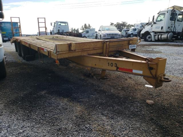 Other Trailer salvage cars for sale: 1998 Other Trailer