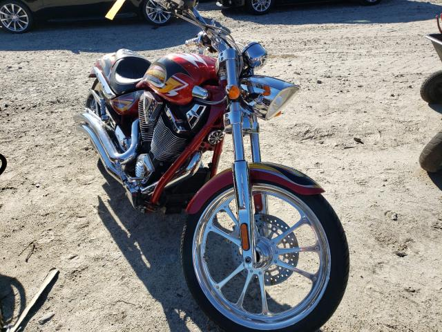Salvage motorcycles for sale at Mendon, MA auction: 2008 Victory Ness Jackp