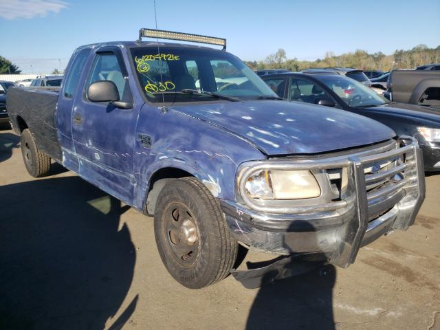 Salvage cars for sale from Copart New Britain, CT: 1998 Ford F150