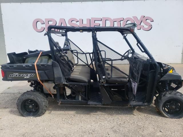 Salvage motorcycles for sale at Dallas, TX auction: 2019 Polaris Ranger CRE