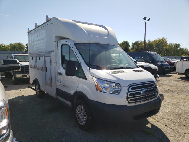 Salvage trucks for sale at Indianapolis, IN auction: 2016 Ford Transit T
