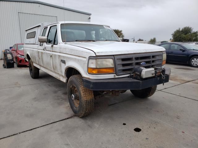 Ford F250 salvage cars for sale: 1995 Ford F250