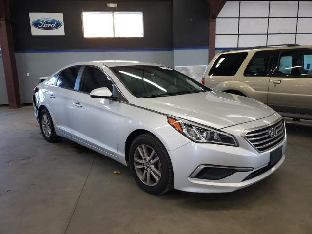 Salvage cars for sale from Copart East Granby, CT: 2016 Hyundai Sonata SE