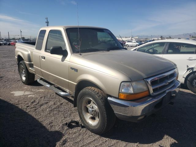 Salvage cars for sale from Copart Las Vegas, NV: 2000 Ford Ranger SUP
