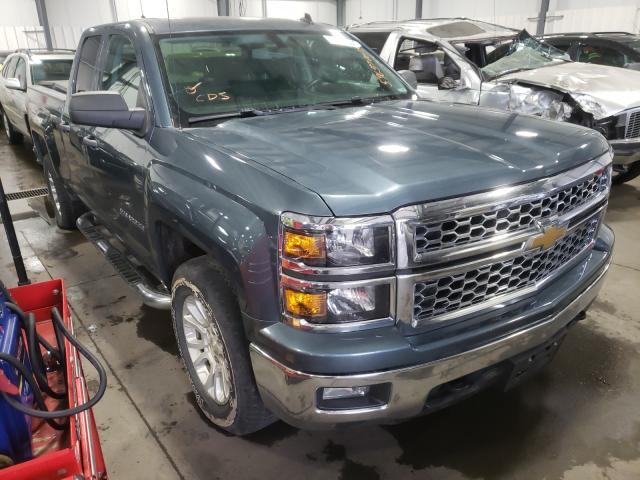 Salvage trucks for sale at Ham Lake, MN auction: 2014 Chevrolet Silverado