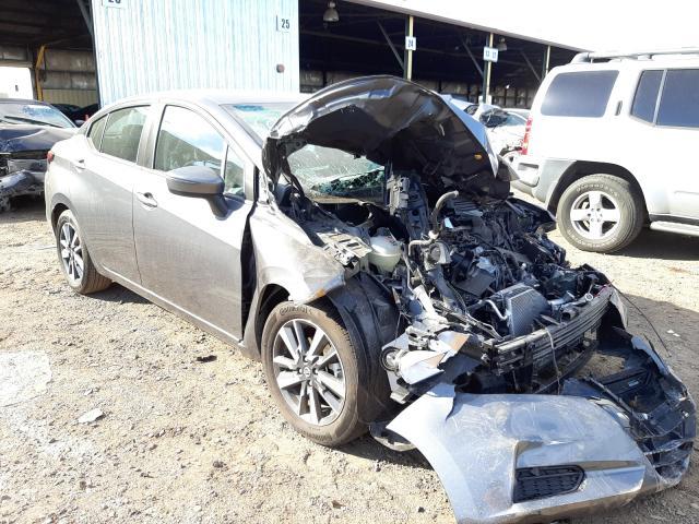Salvage cars for sale at Phoenix, AZ auction: 2021 Nissan Versa SV