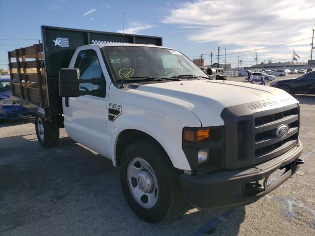 Salvage cars for sale from Copart Sun Valley, CA: 2008 Ford F350 SRW S