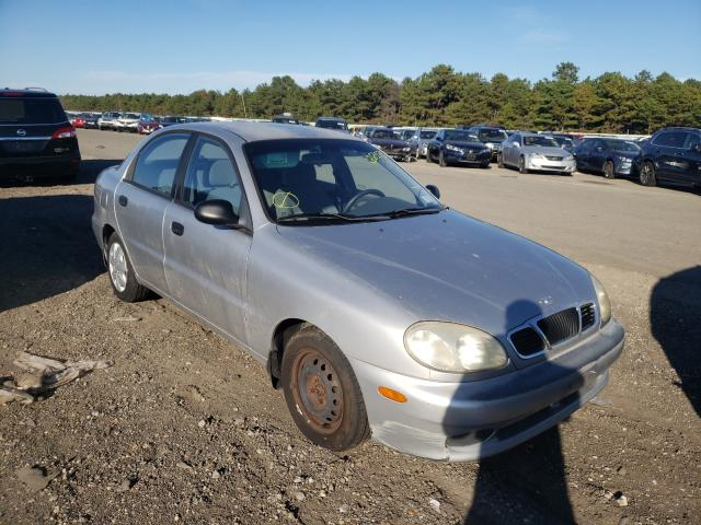Daewoo Lanos S salvage cars for sale: 2002 Daewoo Lanos S