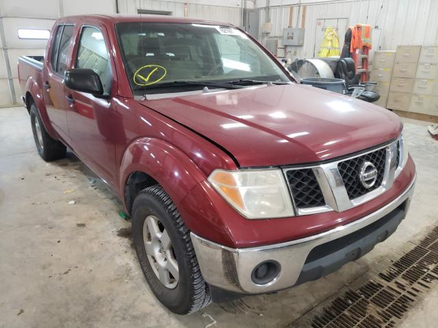 Salvage cars for sale from Copart Columbia, MO: 2006 Nissan Frontier C