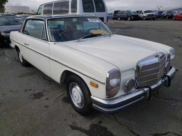 Vehiculos salvage en venta de Copart Martinez, CA: 1972 Mercedes-Benz 250C