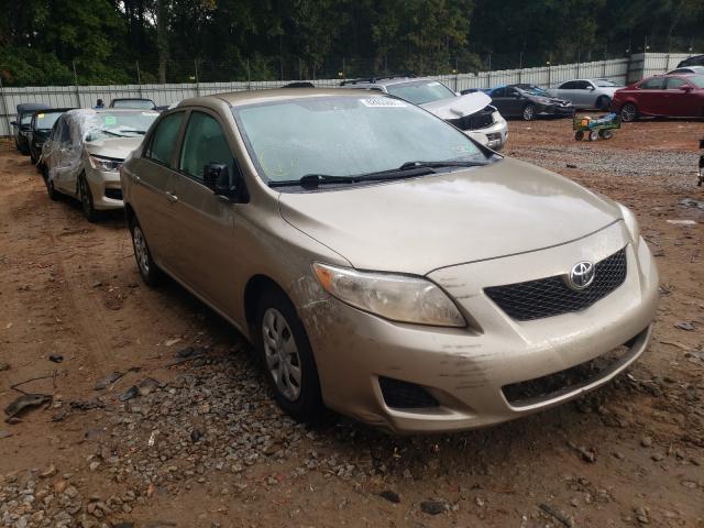 Vehiculos salvage en venta de Copart Austell, GA: 2010 Toyota Corolla BA
