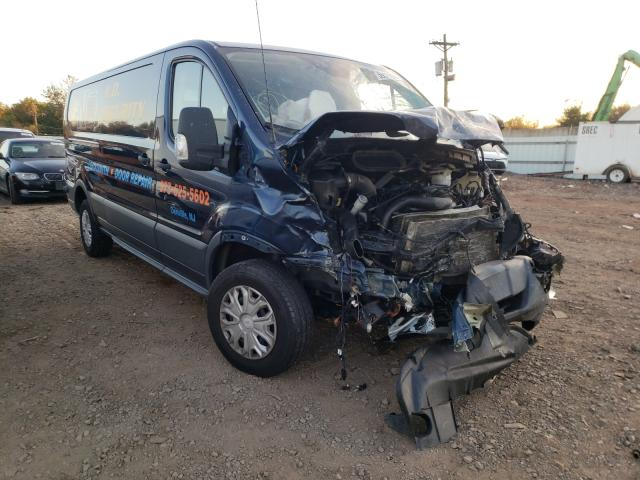 Salvage cars for sale from Copart Hillsborough, NJ: 2016 Ford Transit T