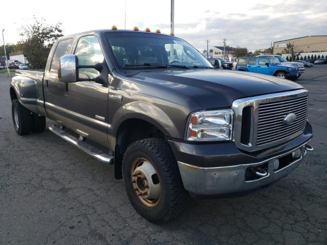 Salvage cars for sale from Copart New Britain, CT: 2006 Ford F350 Super