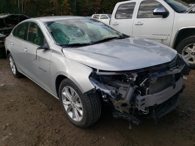 Salvage cars for sale at Lyman, ME auction: 2020 Chevrolet Malibu LT