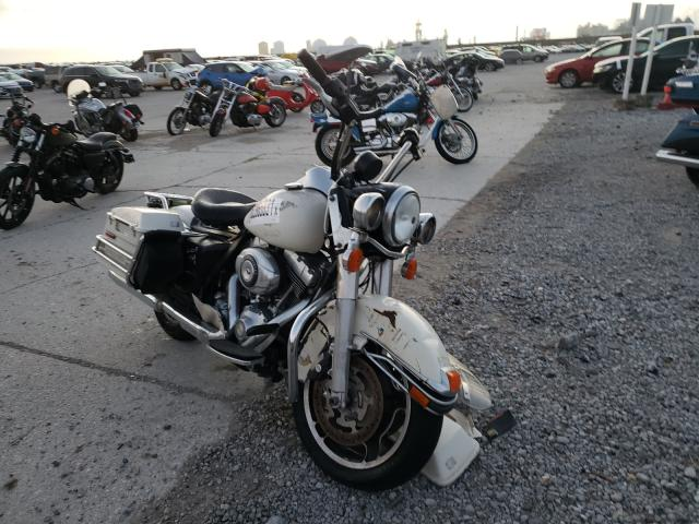 Salvage motorcycles for sale at New Orleans, LA auction: 2010 Harley-Davidson Flhp