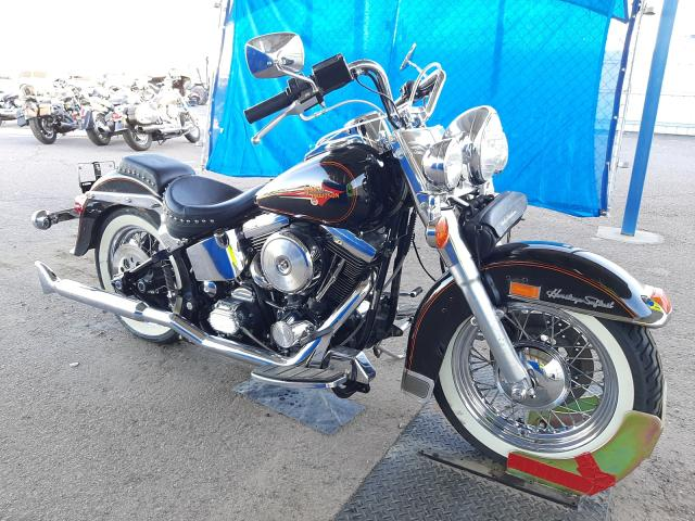 Salvage motorcycles for sale at Phoenix, AZ auction: 1992 Harley-Davidson Flstc
