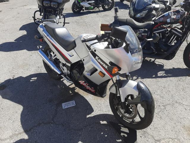 Salvage motorcycles for sale at Las Vegas, NV auction: 2005 Kawasaki Ninja