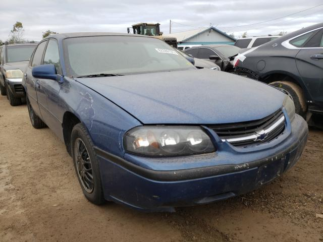 Chevrolet Impala salvage cars for sale: 2004 Chevrolet Impala