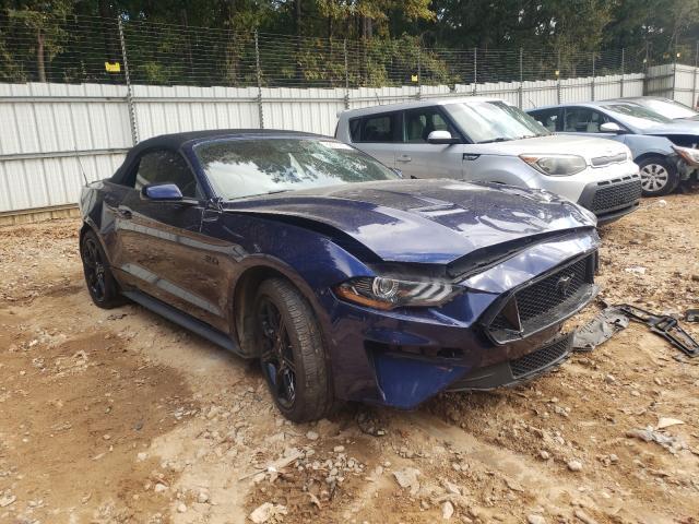 Vehiculos salvage en venta de Copart Austell, GA: 2019 Ford Mustang GT
