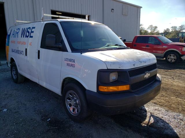 Salvage cars for sale from Copart Jacksonville, FL: 2013 Chevrolet Express G1