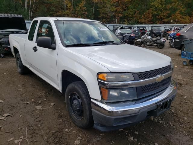 Salvage cars for sale from Copart Lyman, ME: 2008 Chevrolet Colorado