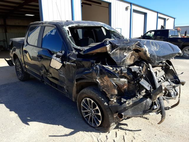 Salvage cars for sale at Conway, AR auction: 2018 Ford F150 Police