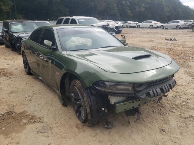 Vehiculos salvage en venta de Copart Austell, GA: 2021 Dodge Charger SC