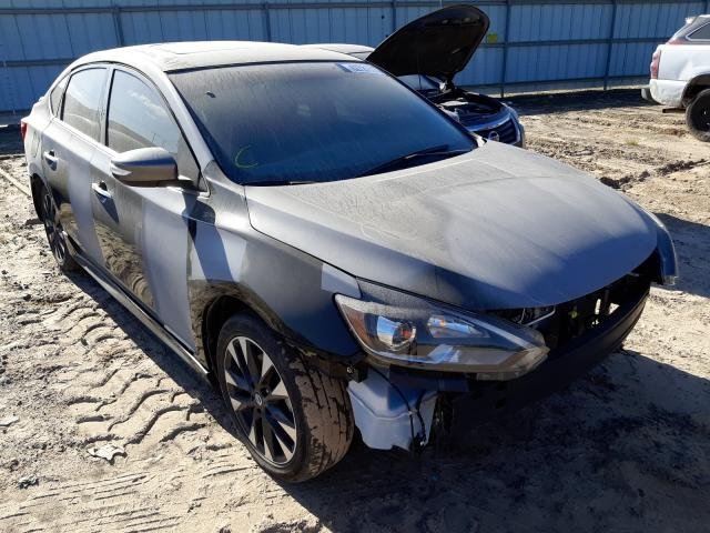 Salvage cars for sale at Conway, AR auction: 2019 Nissan Sentra SR