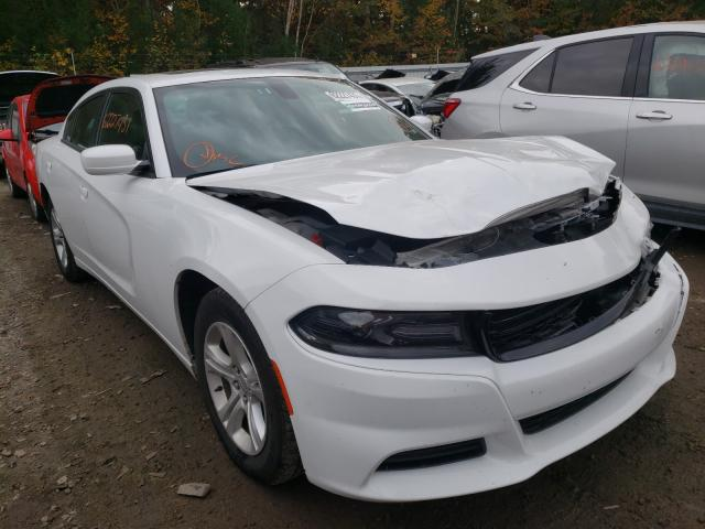 Salvage cars for sale at Lyman, ME auction: 2019 Dodge Charger SX
